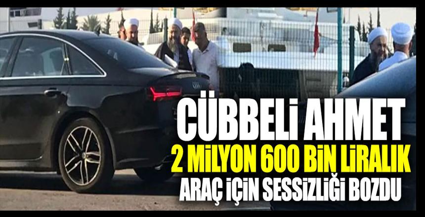 Cübbeli Ahmet 2 milyon 600 bin liralık araç için sessizliğini bozdu