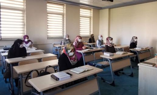 Kur'an kurslarında yeni dönem pandemi tedbirleri eşliğinde başladı