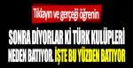 Sonra diyorlar ki Türk kulüpleri neden batıyor. İşte bu yüzden batıyor