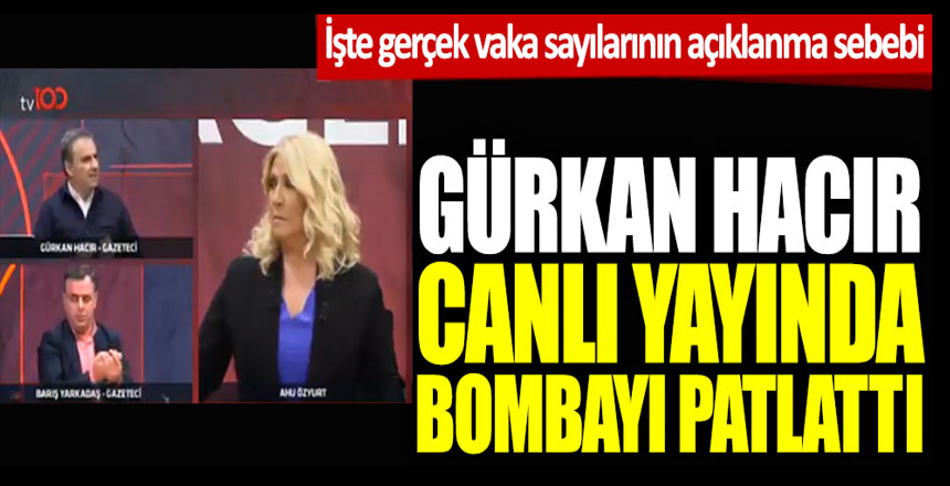 Gürkan Hacır canlı yayında bombayı patlattı! İşte gerçek vakaların açıklanma sebebi