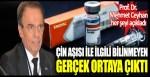 Prof. Dr. Mehmet Ceyhan her şeyi açıkladı, Çin aşısı CoronaVac ile ilgili bilinmeyen gerçek ortaya çıktı!