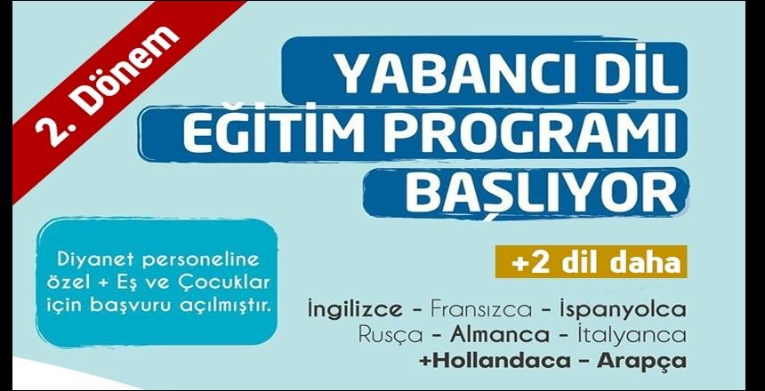 MÜSDAV 2. dönem yabancı dil programı başlıyor