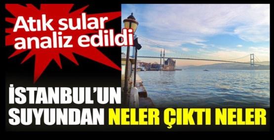 İstanbul'un suyundan neler çıktı neler