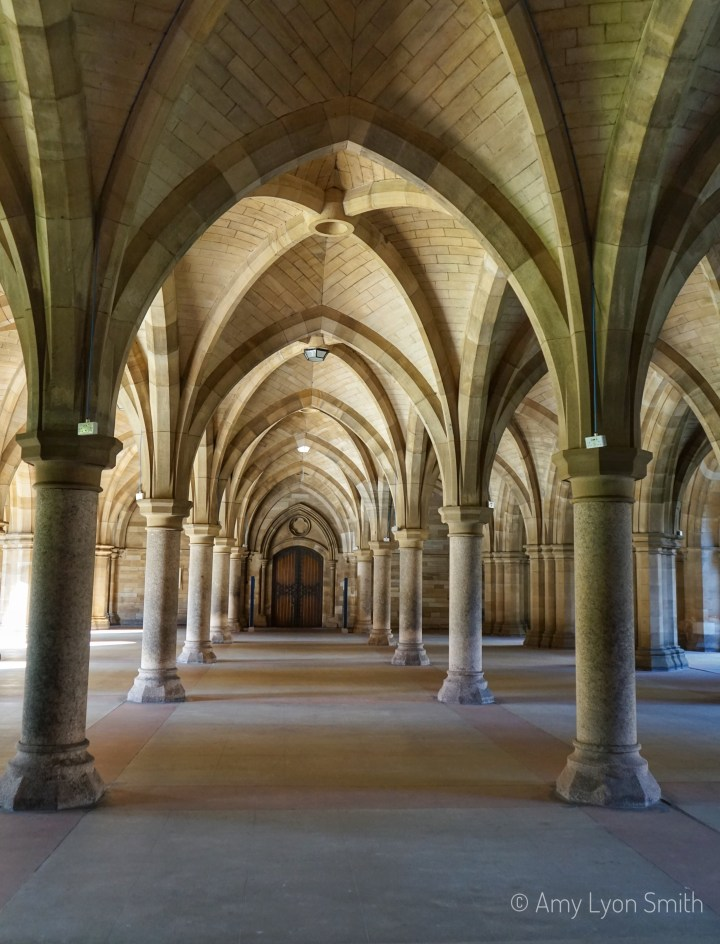 The Cloisters, or Undercroft, at the University of Glasgow are a work of architectural beauty. Come along as we take a walking tour through them.