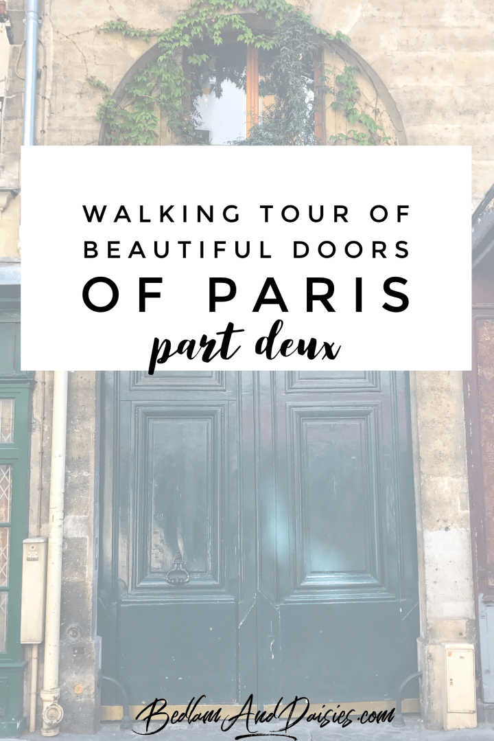 Doors of Paris – Part Deux
