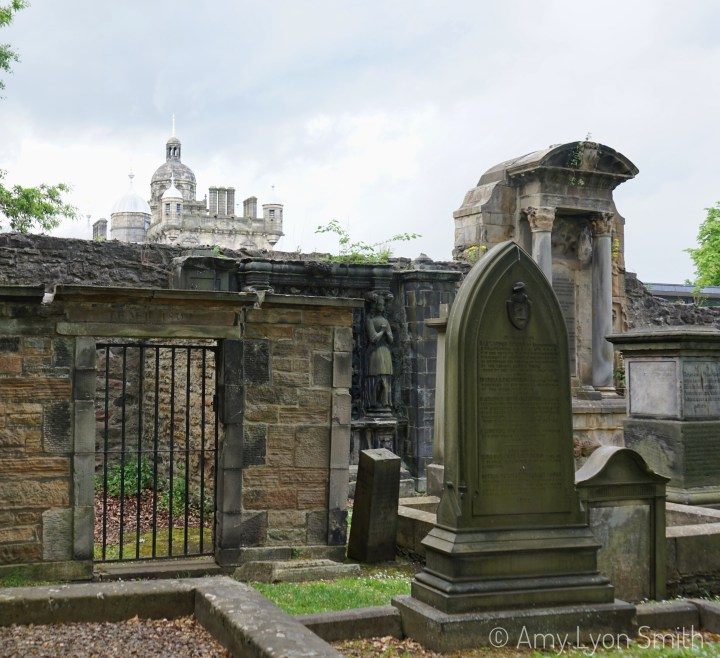 George Heriot's School from Greyfriars Kirkyard