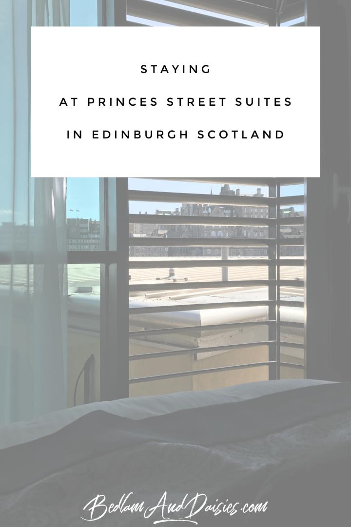 Princes Street Suites in Edinburgh, Scotland