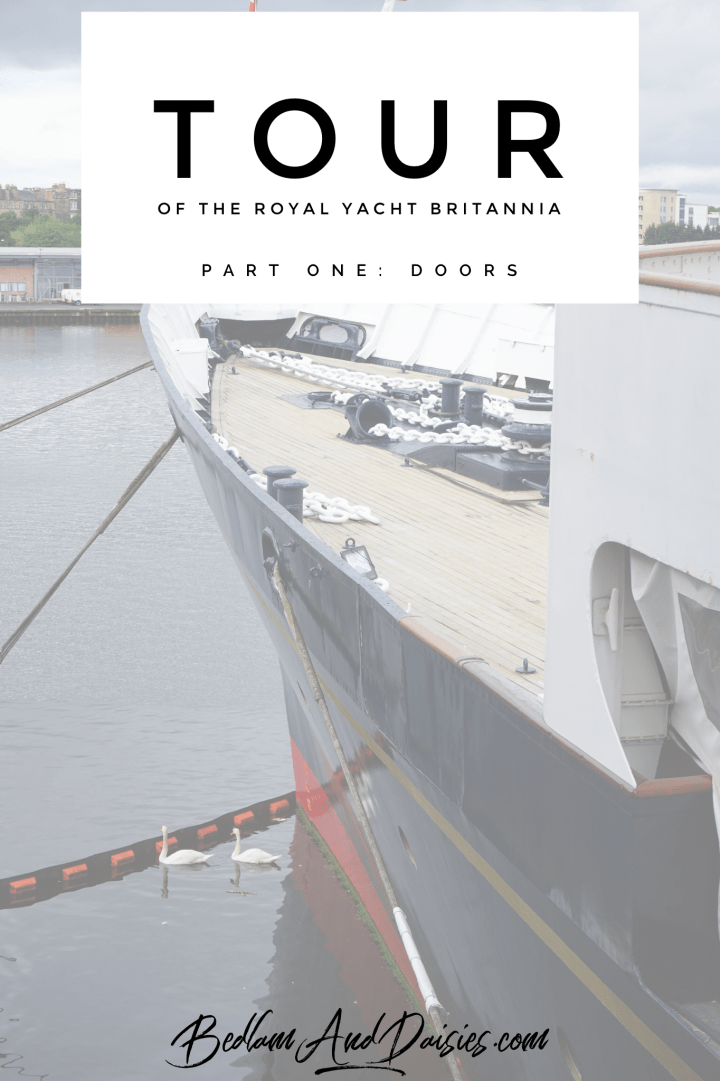 Tour of the Royal Yacht Britannia. Part one: doors