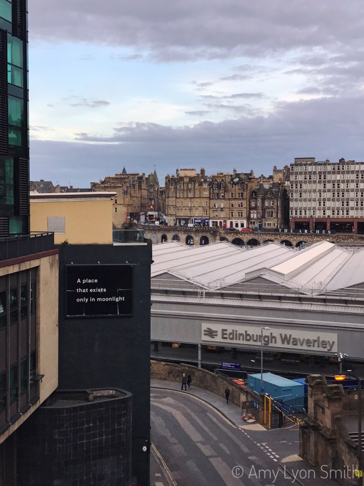 City view of Edinburgh Scotland