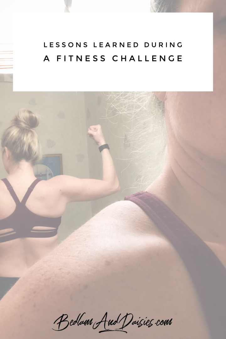 Lessons Learned During A Month Long Fitness Challenge