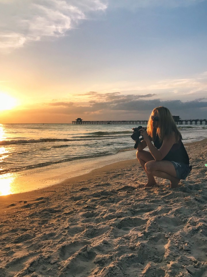 Amy Lyon Smith Photographer sunset naples florida pier