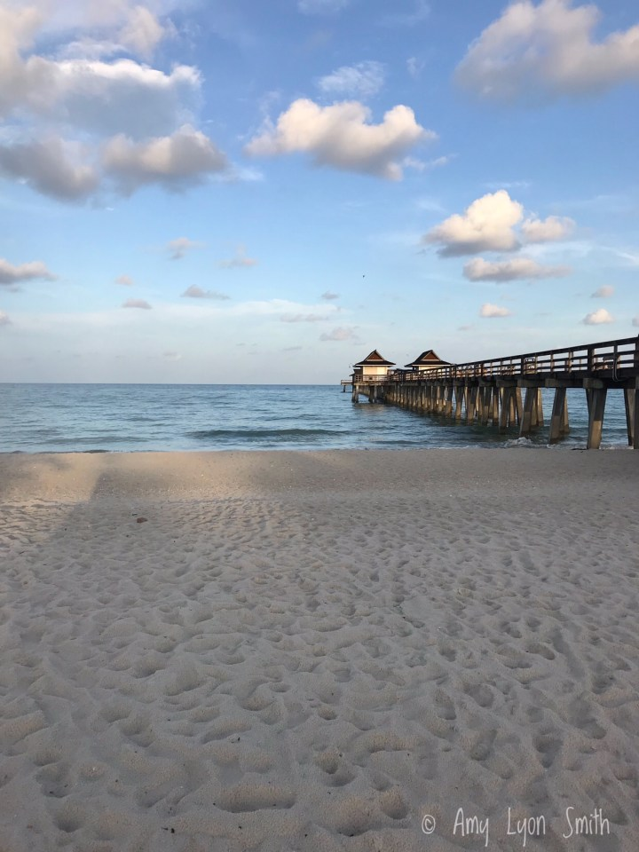 Pier in Naples Florida