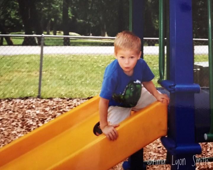 Mr. D age 5