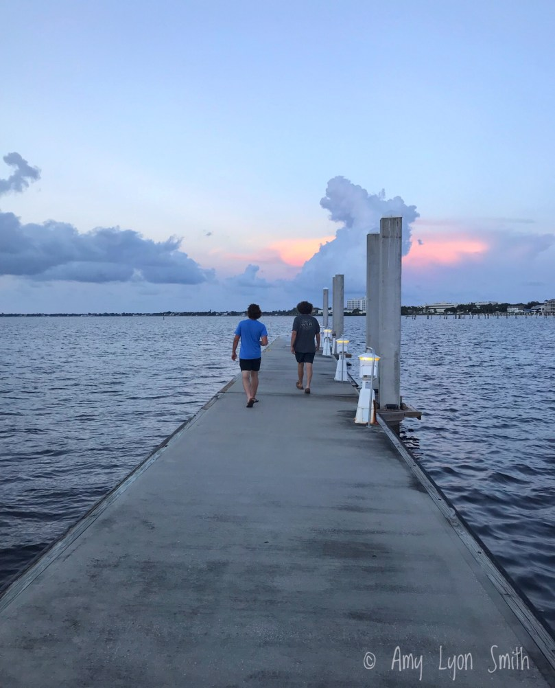 Dock in Downtown Stuart, Florida