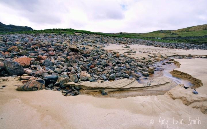 Dalbeg Beach on the Isle of Lewis Outer Hebrides Scotland UK