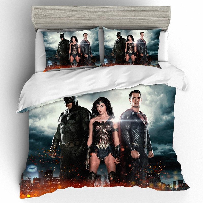 wonder woman bed linen
