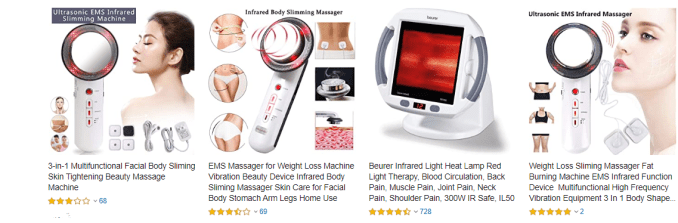 best infrared slimming massagers