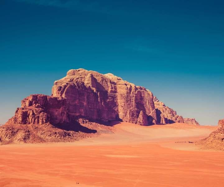 wadi rum bedouin desert camp jordan