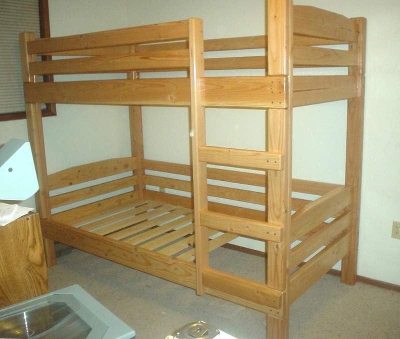 bunk bed wood plans