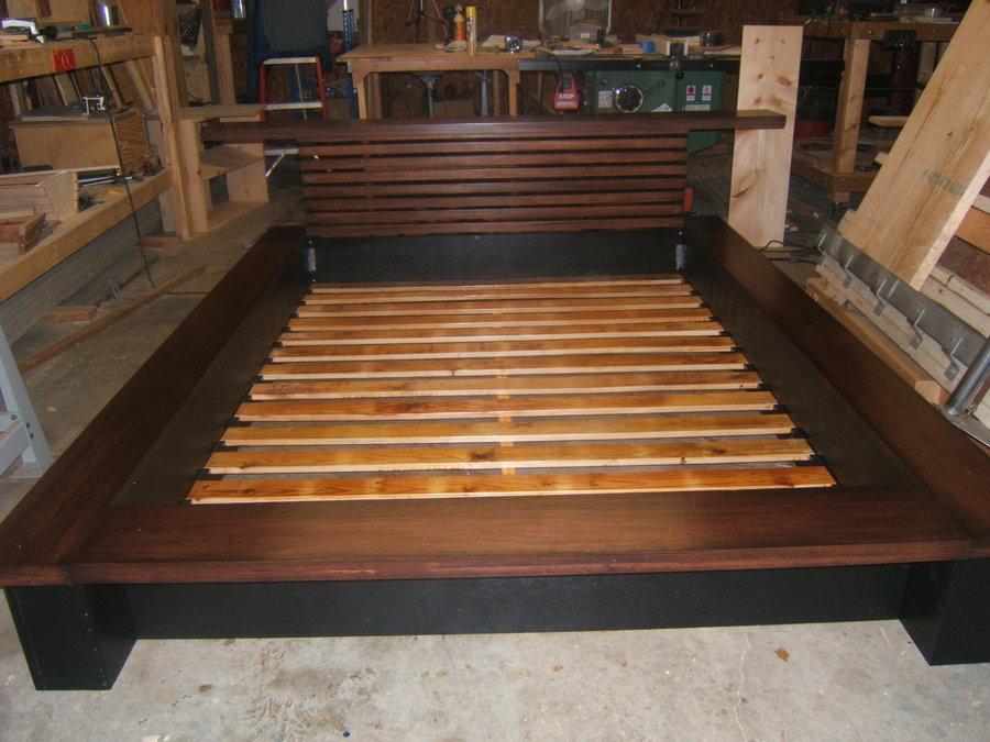 plans to build a platform bed