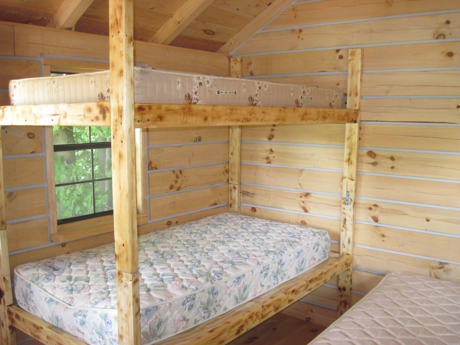 Built In Double Bunk Bed Plans Novocom Top