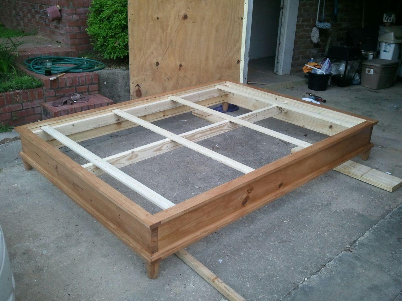 Queen Size Platform Bed Plans