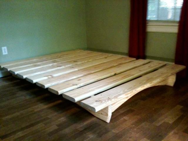 Twin Platform Bed Plans   BED PLANS DIY & BLUEPRINTS