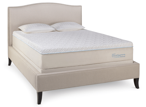 Tempur Cloud Supreme Breeze Luxury Memory Foam Mattress