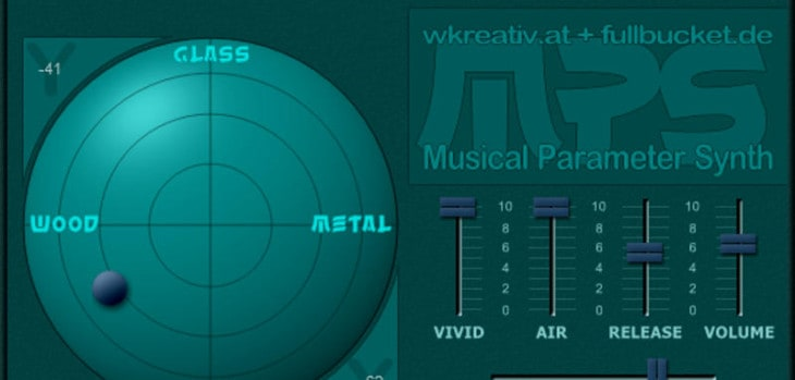 Full Bucket Music Releases Free MPS Synthesizer (KVRDC18)