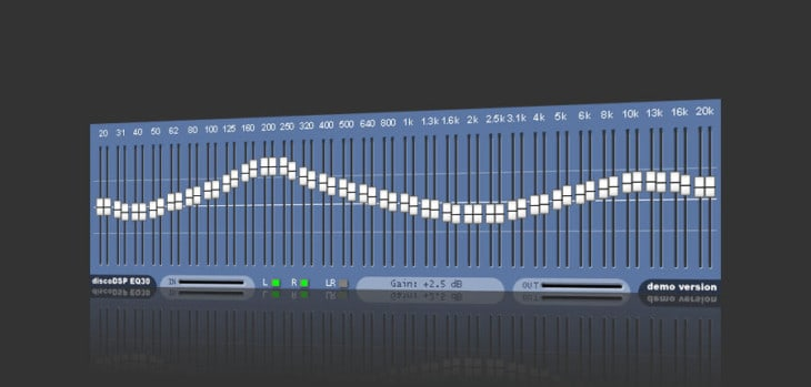EQ30 Graphical Equalizer 32-bit VST Plugin By discoDSP Is Now FREE