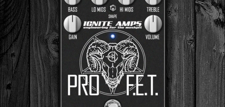 ProF.E.T. VST/AU Plugin By Ignite Amps (KVRDC18 Winner)