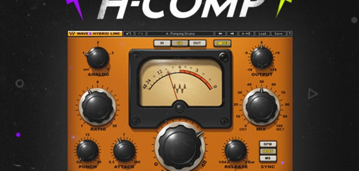 Waves Audio H-Comp Is FREE This Cyber Monday!
