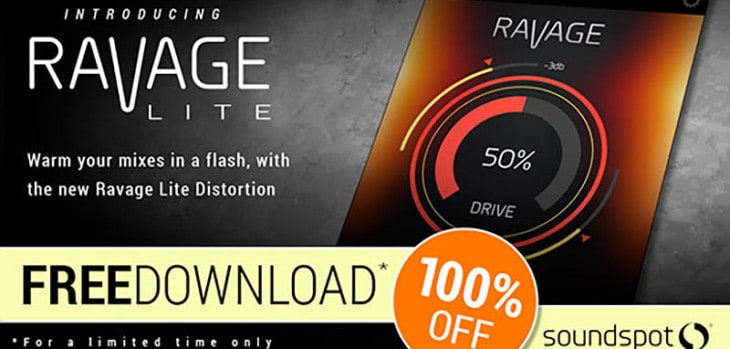 Ravage Lite Distortion VST/AU Plugin Is FREE Until November 22nd!