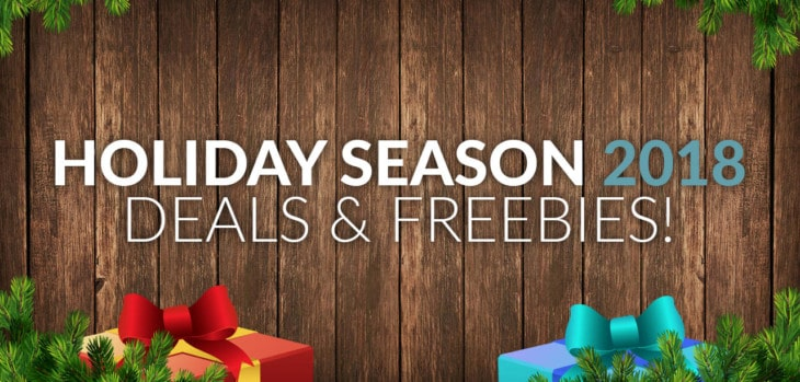 Christmas 2018 Deals & Freebies For Music Producers!
