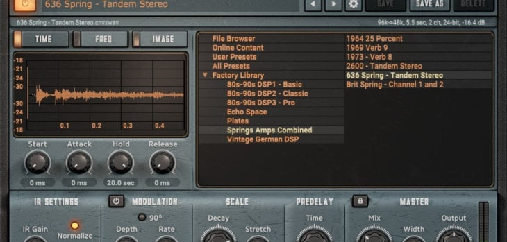Impulse Record Releases FREE Convology XT VST/AU Plugin