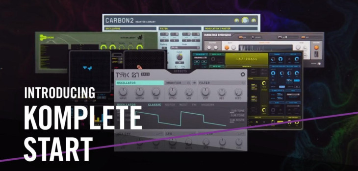 Native Instruments Launches Free KOMPLETE START Bundle