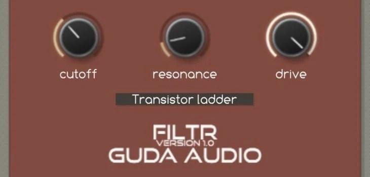 FiltR Is A FREE Multi-Mode Filter VST/AU Plugin By GuDa Audio