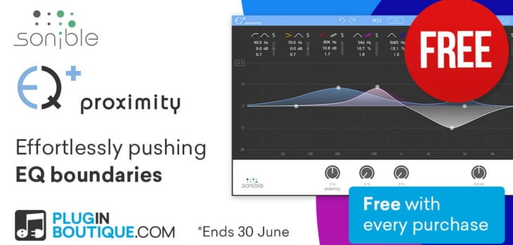 Sonible Proximity:EQ Is FREE With Any Purchase @ Pluginboutique