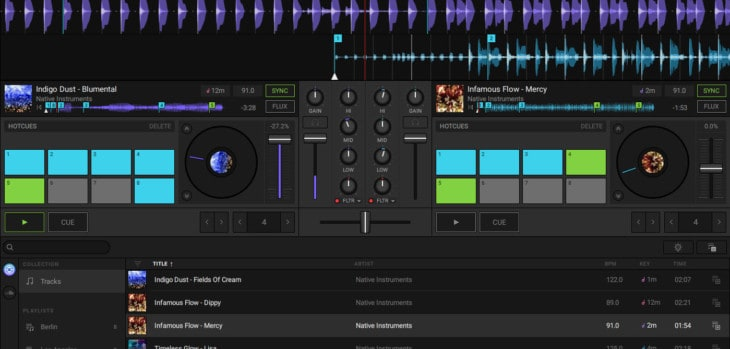 Native Instruments Launches FREE Traktor DJ 2 Software
