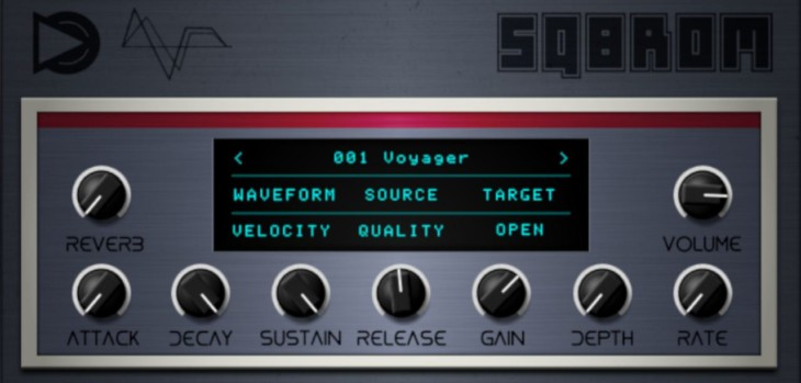 SampleScience Intros SQ8ROM Free Ensoniq SQ-80 VST/AU Plugin
