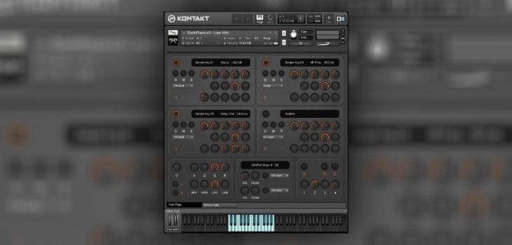 RSSD01 FREE Dark Piano by Replika Sound