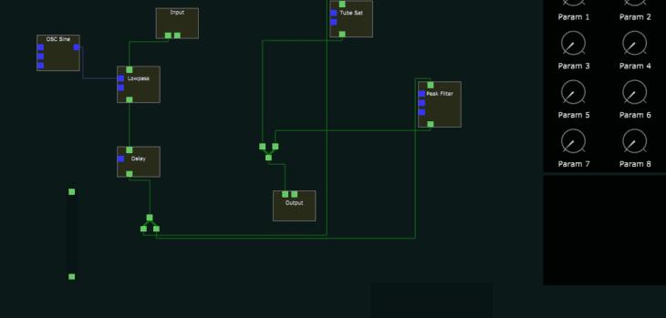 KRETS modular VST plugin by Klevgränd