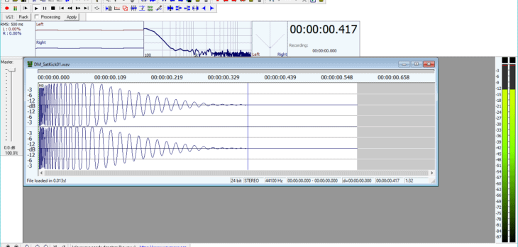 Wavosaur Audio Editor Updated To v1.5 (Windows Standalone)