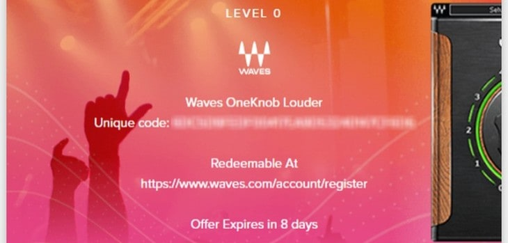 Get Waves OneKnob Louder For FREE Until June 23rd!