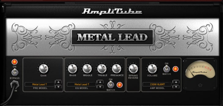 AmpliTube Metal by IK Multimedia