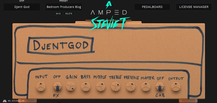 Amped Stevie T Free by ML Sound Lab