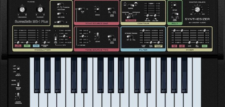 Surrealistic MG-1 Plus Synthesizer by Cherry Audio