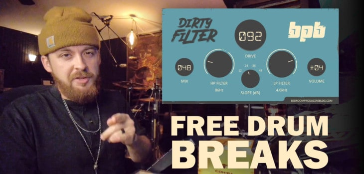 Free Drum Breaks by A.J. Hall