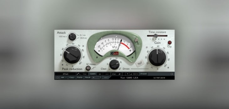 Free TLS 1295 LEA Compressor VST Plugin Goes 64-bit