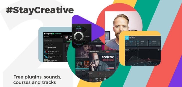 #StayCreative Offers FREE Ozone Elements, Sounds, Tuts & More!